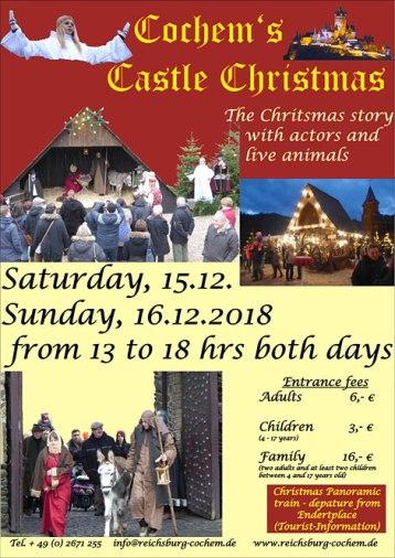 Reichsburg Cochem Christmas