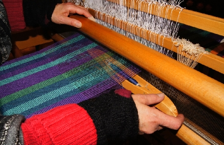 Weaving Cloth at Klostermuehle